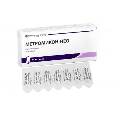 МЕТРОМИКОН-НЕО вагинальные суппозитории